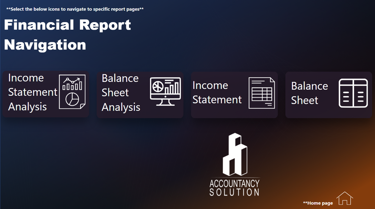 Power BI Finanšu pārskati