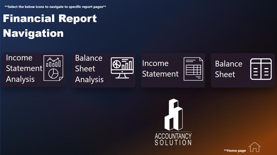 Power BI Financial Reporting Template
