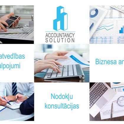 Accountancy Solution Grāmatvedība un biznesa analītika
